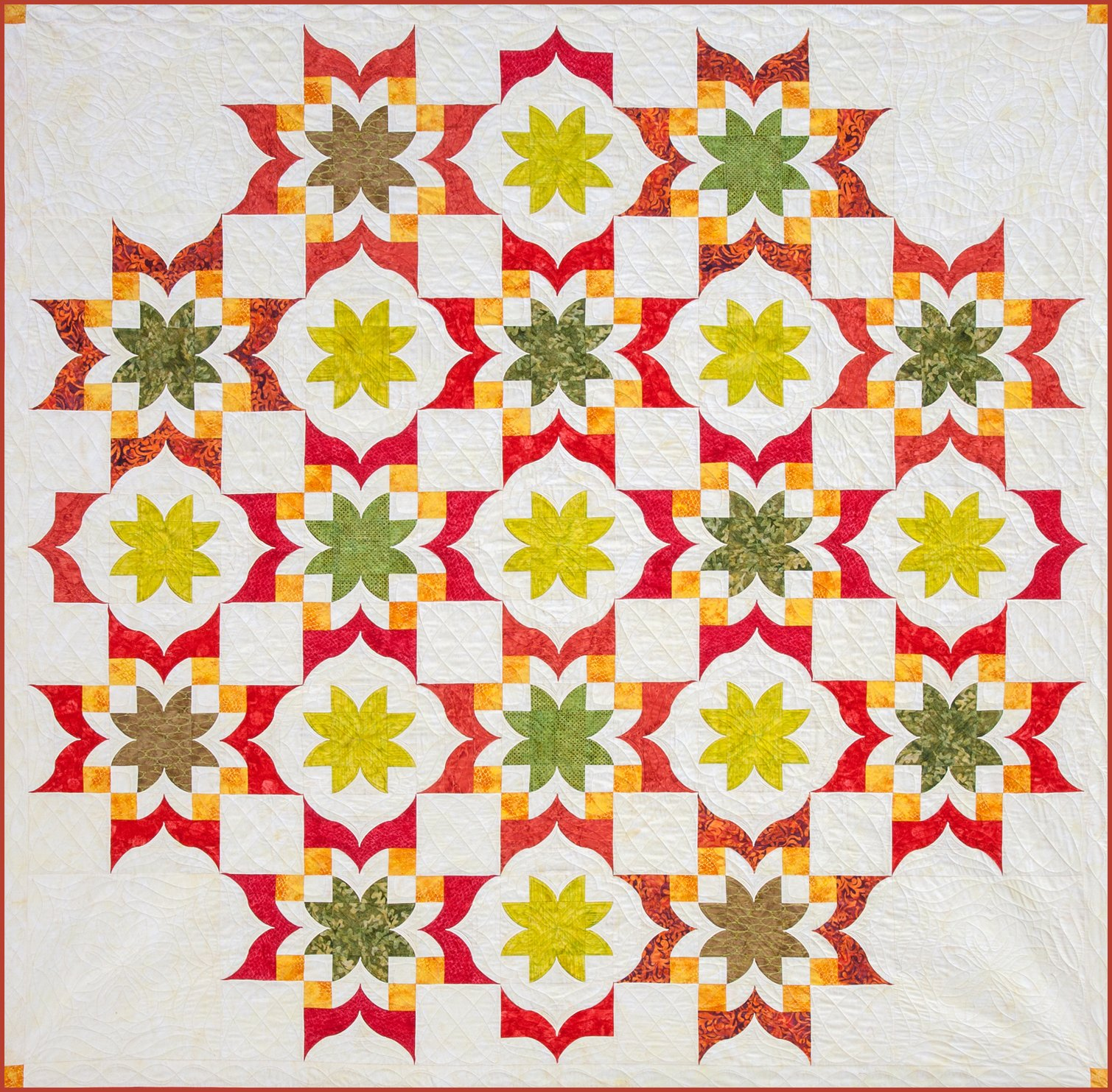 Southwind Designs Has Dimensional Curved Quilt Patterns