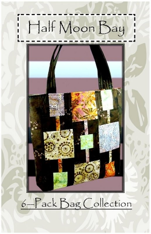 Half Moon Bay 15x14x3 Tote Pattern sku:P079