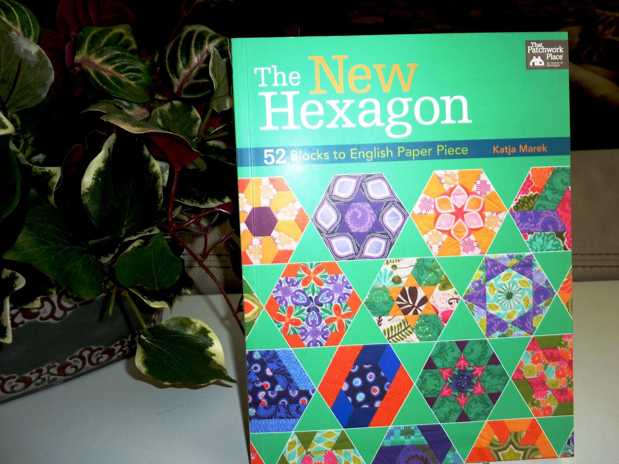 The New Hexagon, 52 Blocks to English Paper Piece by Katja Merek