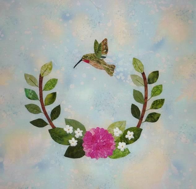 Hummingbird Haven -Dahlia Kit