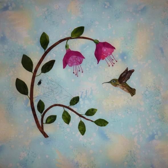 Hummingbird Haven -Fuchsias