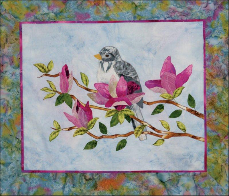Sweet Magnolias Fabric Kit
