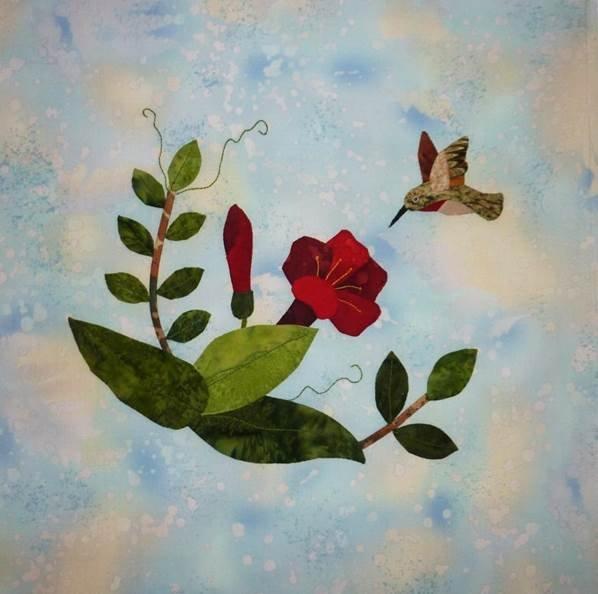 Hummingbird Haven -Trumpet Vine