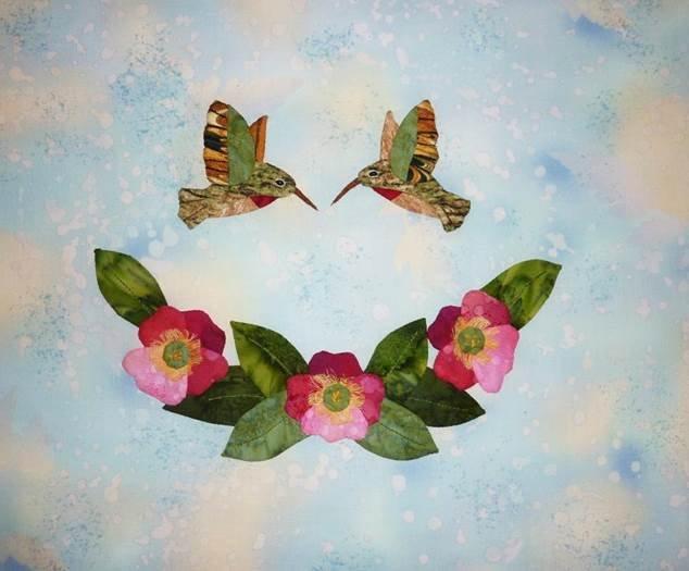 Hummingbird Haven-Wild Roses Kit