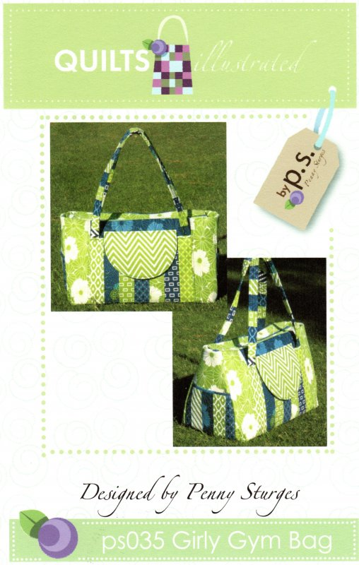 ps035 Girly Gym Bag Pattern