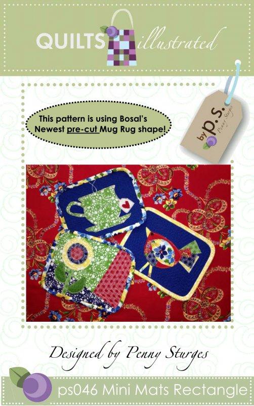 ps046 Mini Mats Rectangle Pattern