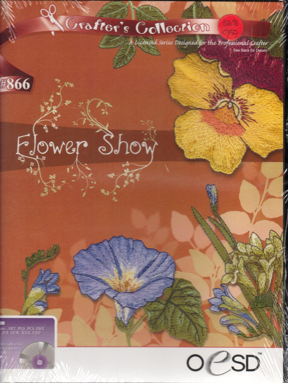 Flower Show #866 <br>  Crafter's Collection by OESD