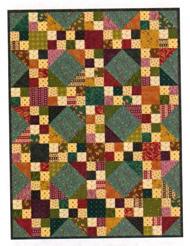Simple Quilts Templates Quilt Kit : Meandering Quilt Kit (#2) Designed by Kim Diehl