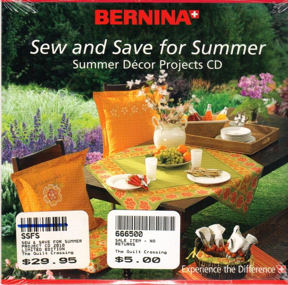 Sew and Save for Summery <br> By Bernina