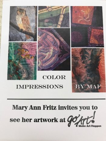 Mary Ann Fritz Art show