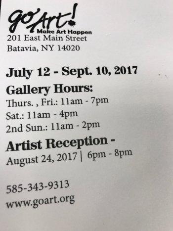 Mary Ann Fritz  art show details