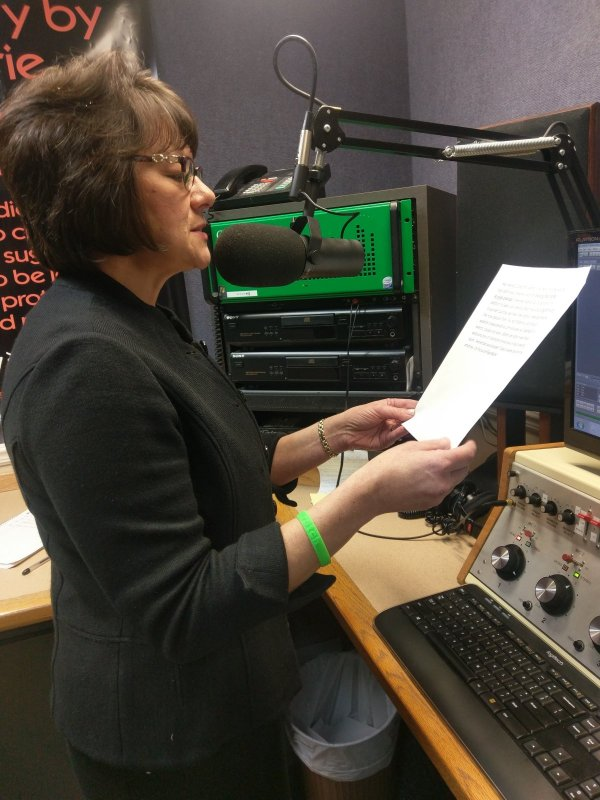 Radio ad audio