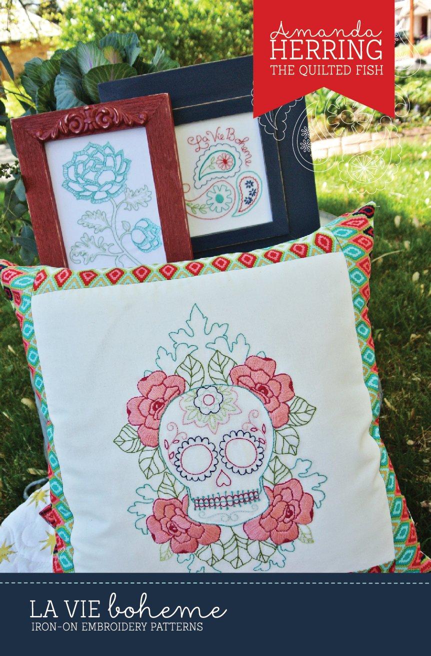 La Vie Boheme Embroidery