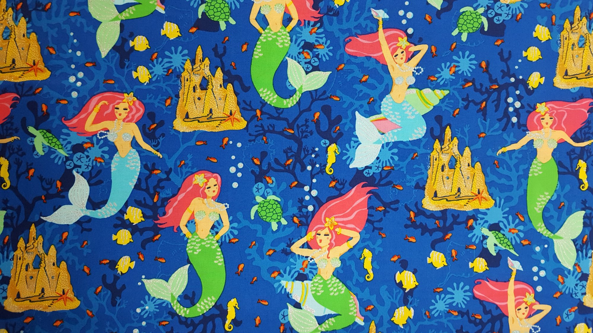 New children 39 s fabric for Children of the sea fabric