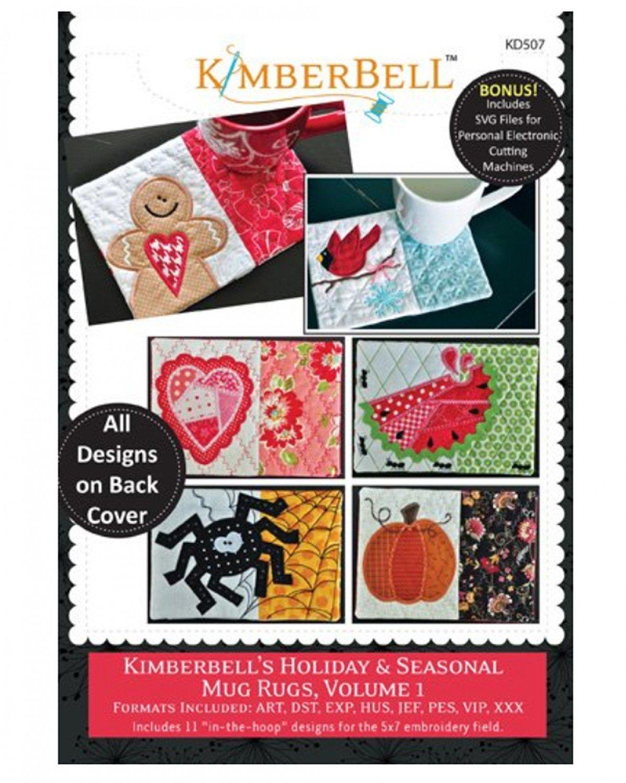 Kimberbell's Holiday & Seasonal Mug Rugs Vol 1
