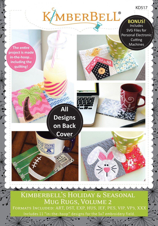 CD Kimberbell Holiday & Seasonal Mug Rugs, Volume 2