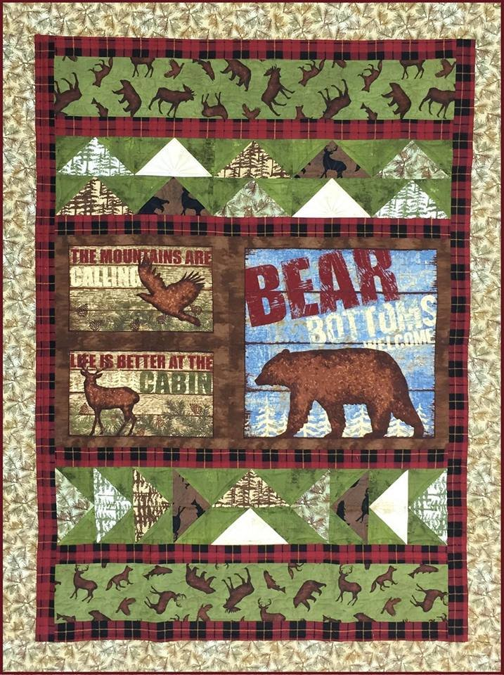 Cabin quilt kit - Quilt rits ...