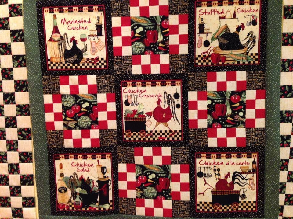 Marinated chicken quilt kit - Quilt rits ...