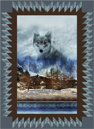 Dakota Wolf Quilt Kit