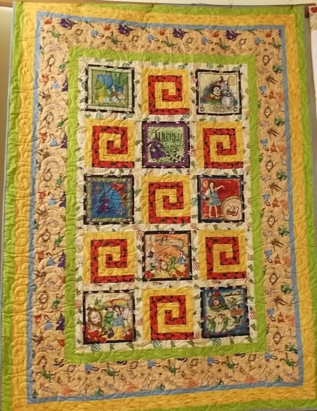 The Magic of OZ Quilt Kit