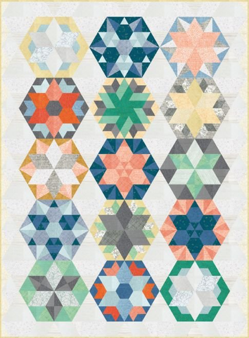 Park Bench Quilt Block of the Month & Kit