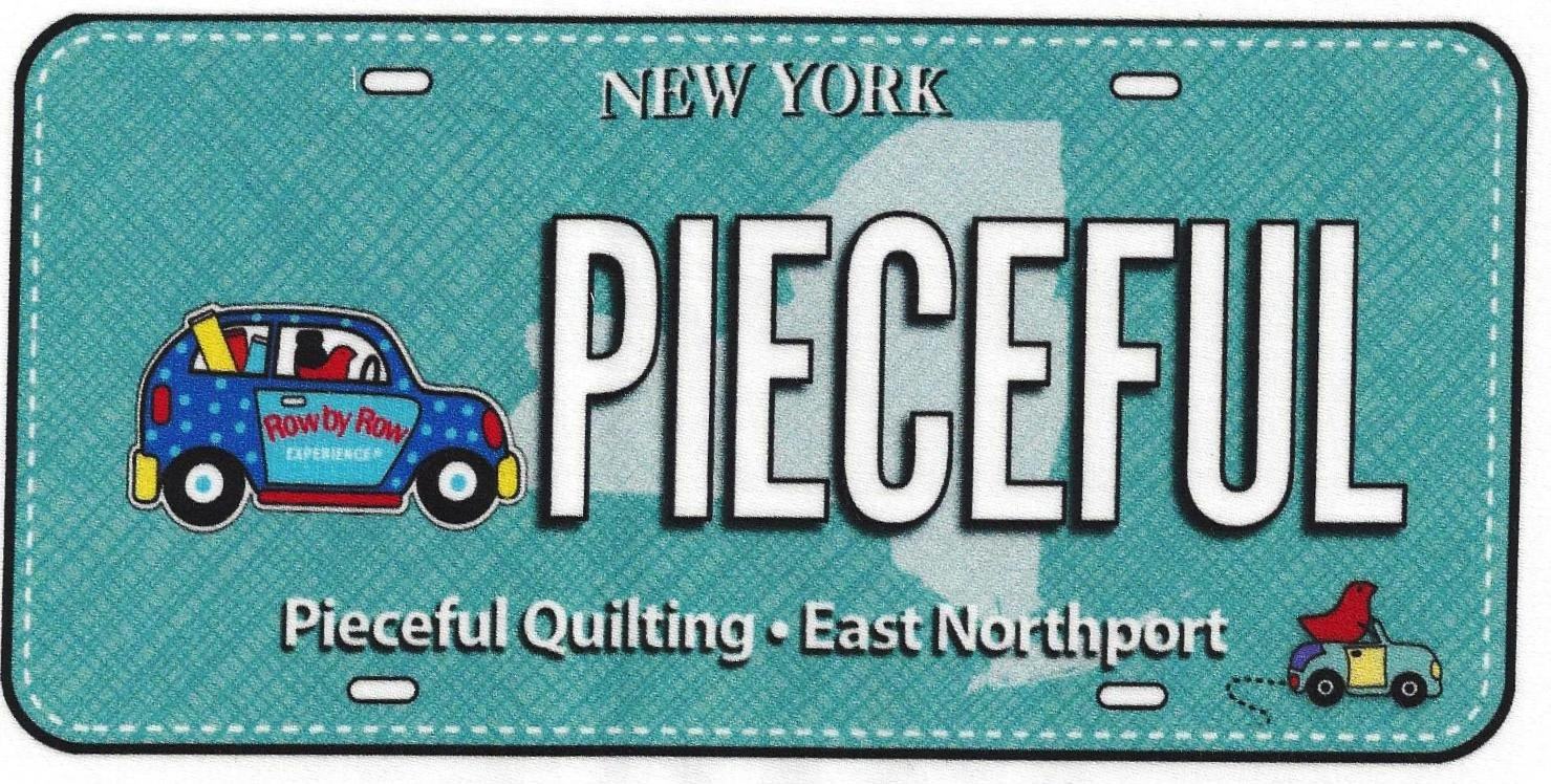 Pieceful License Plate 2017