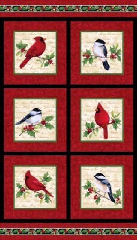 Northcott - Cardinal Christmas - Panel