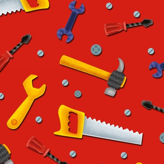 Lets Build! Tools-red