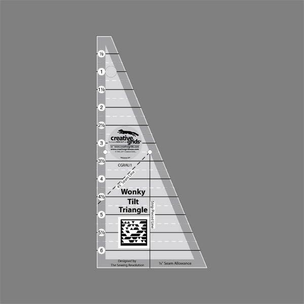 Wonky Tilt Triangle 743285001330