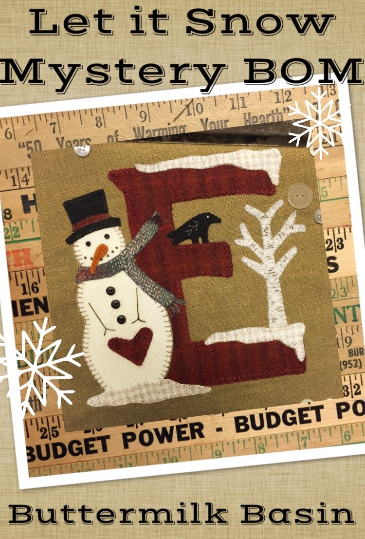 Let it Snow Mystery Block 2 (E) * Pattern & Kit