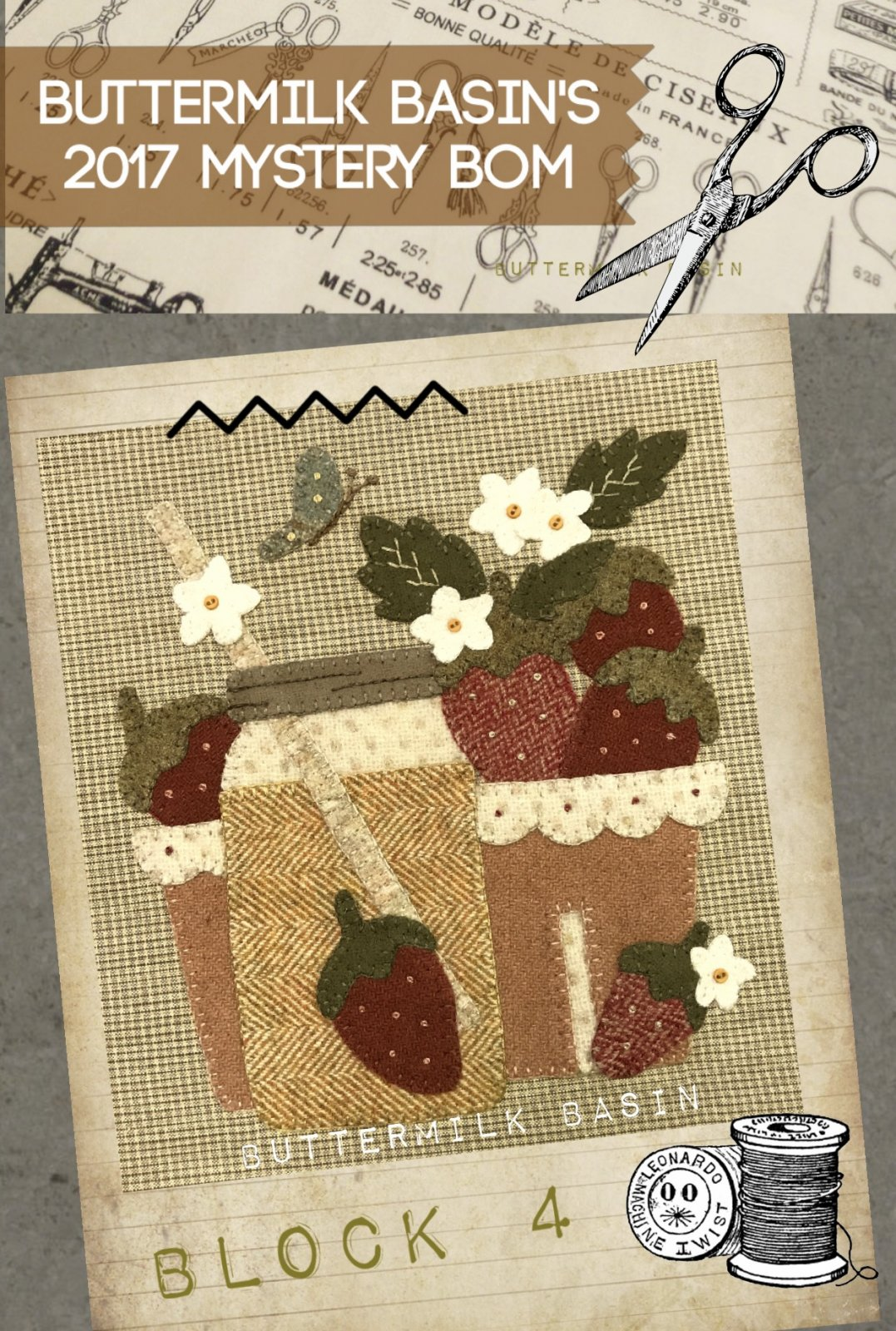 Live Each Season Block #4 KIT & Pattern
