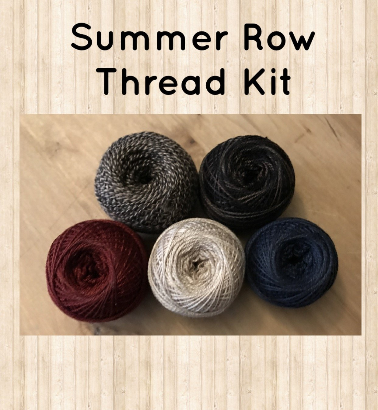LIVE EACH SEASON Summer Row Thread Kit