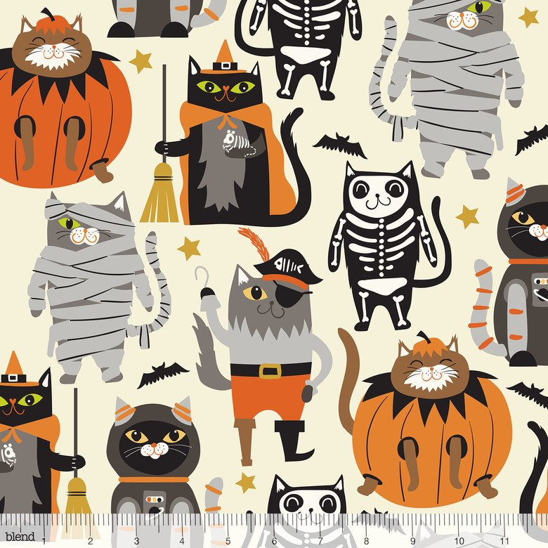 Boo Crew Ivory Purrfect Pranksters