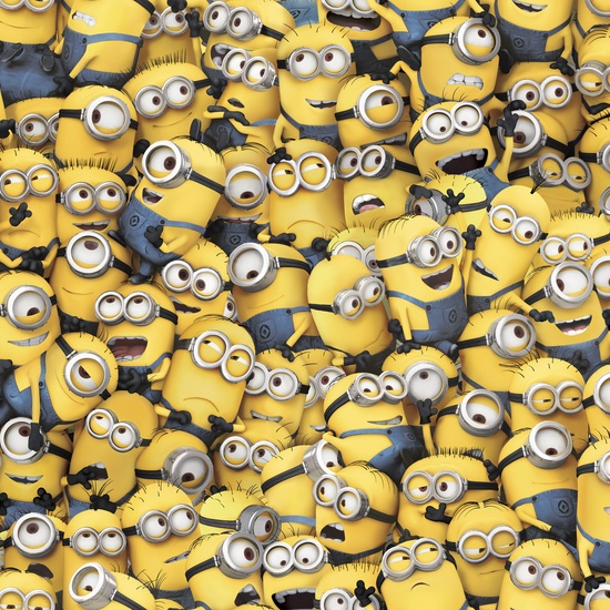 1 In A Minion Yellow Packed Minions 23989