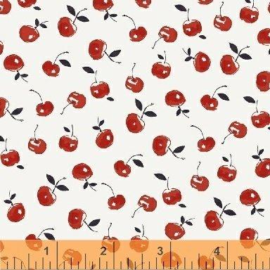 Cucina Cherries on White