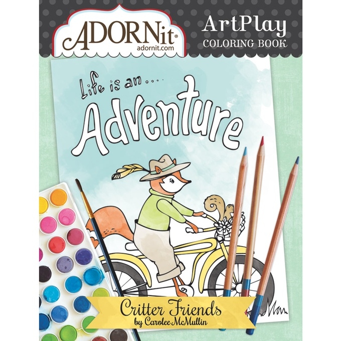 Critter Friends Coloring Book