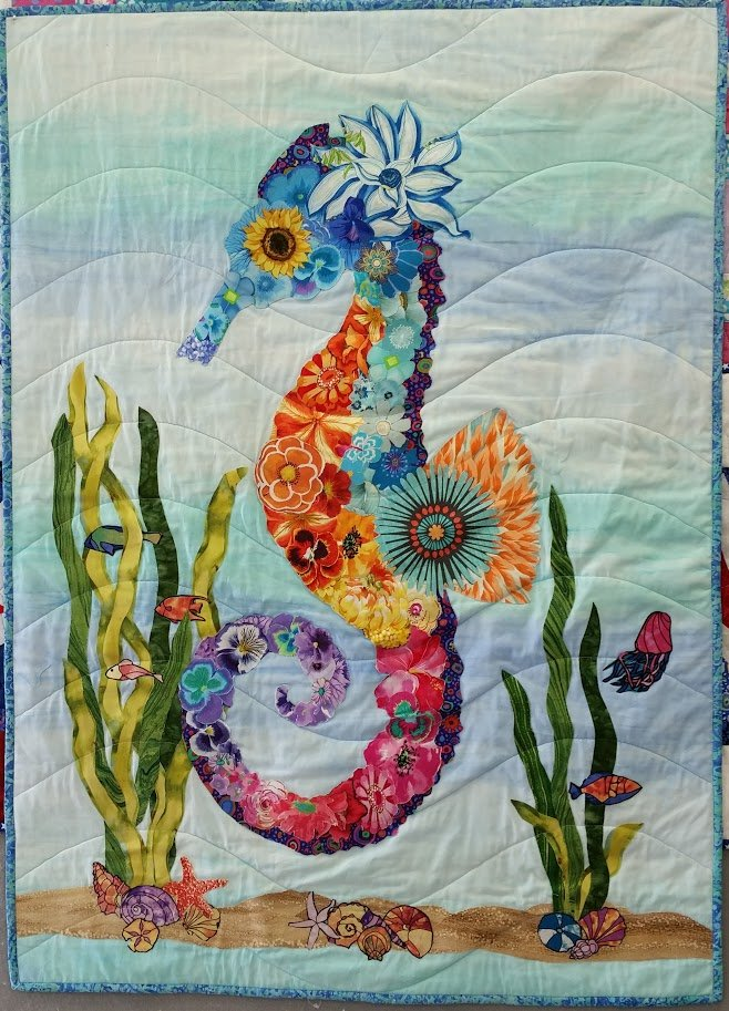 Collage Quilt Wall Hanging