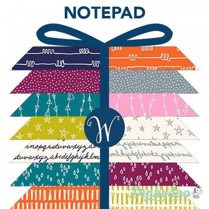 Notepad Fat Quarter Bundle