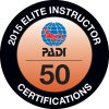 2015 Elite Instructor 50 Certifications