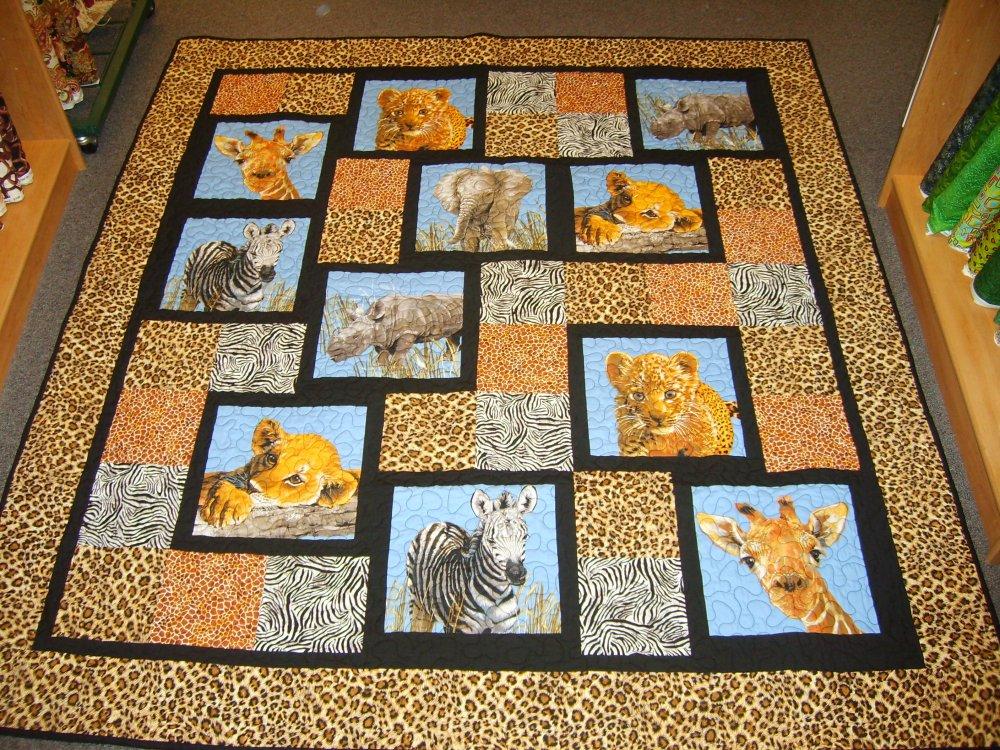 Baby Safari Quilt