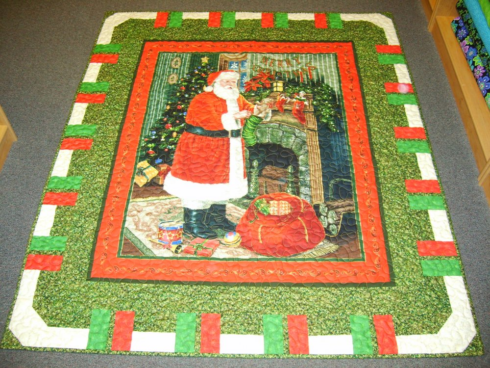 Visit From Santa Throw