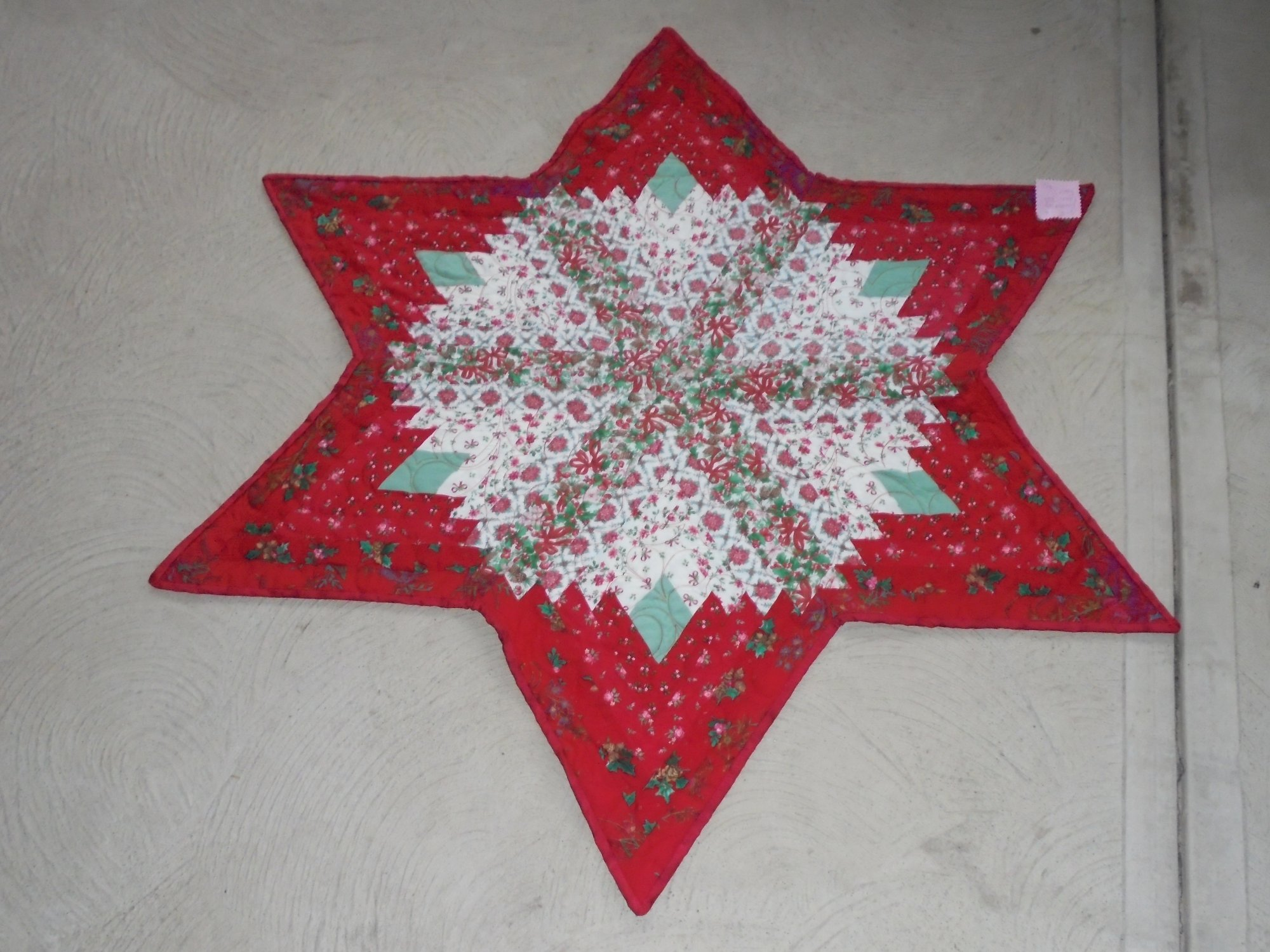 Diamond Log Cabin Star
