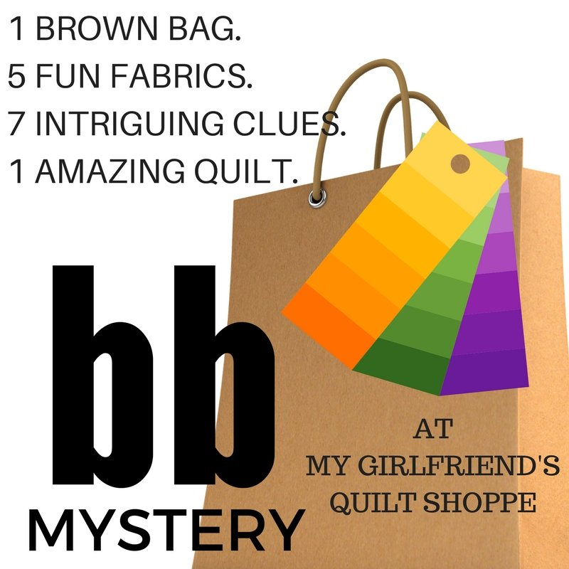 Brown Bag Mystery Quilt Kit + Pattern
