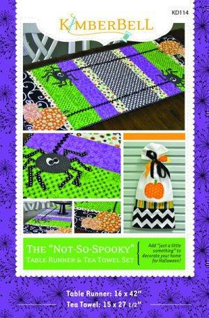 Not-So-Spooky Table Runner Pattern