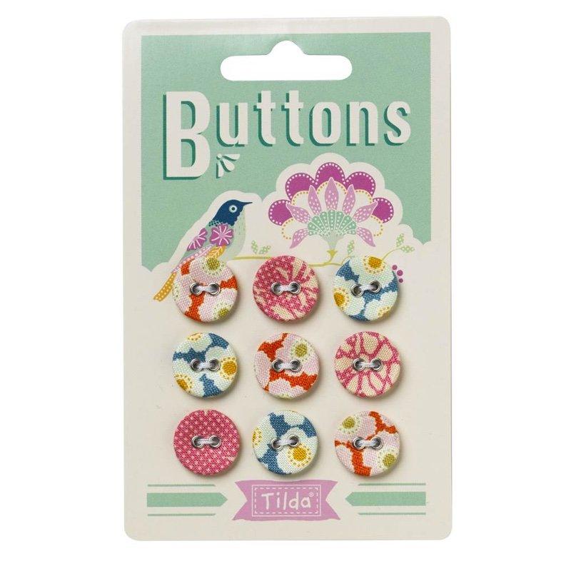 Tilda Harvest Buttons 15mm