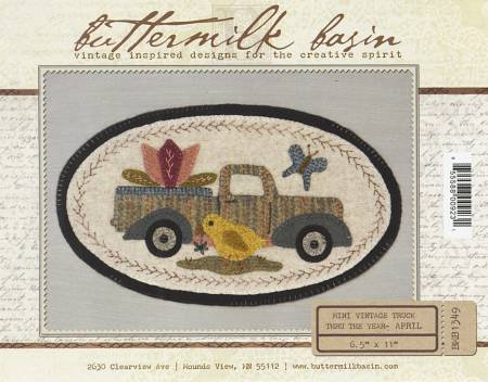 Mini Vintage Truck Through the Year - April (Kit)