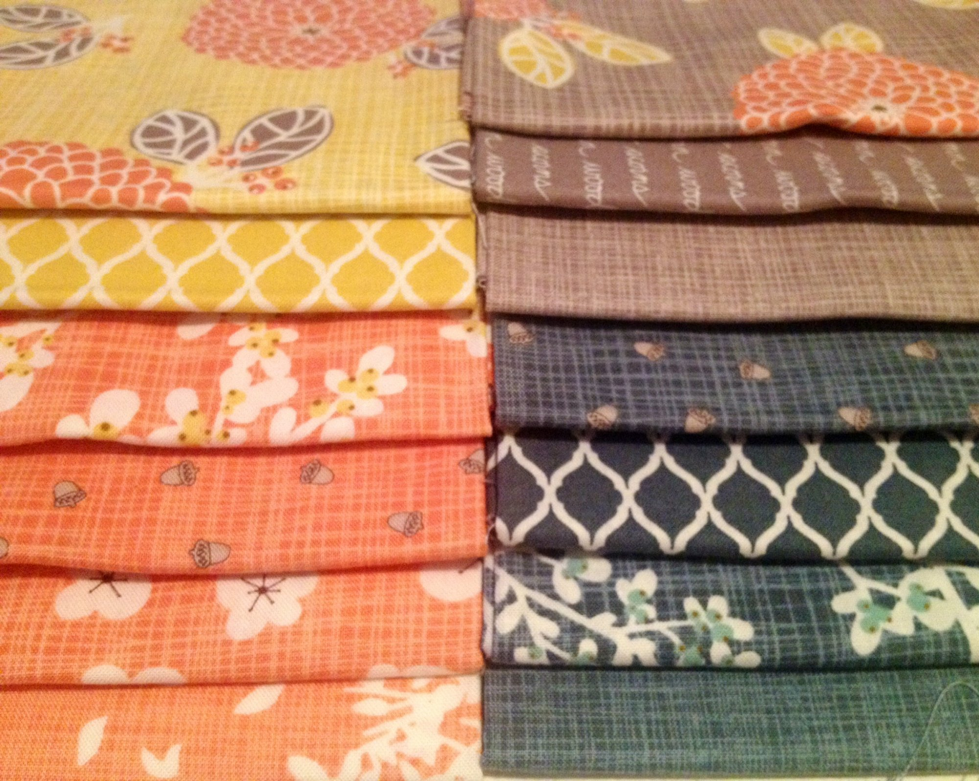 Autumn Woods Fat Quarter Bundle