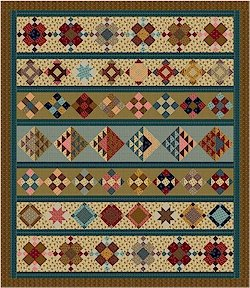 Judie' s Album Quilt  78 x 90 ( Sold out)