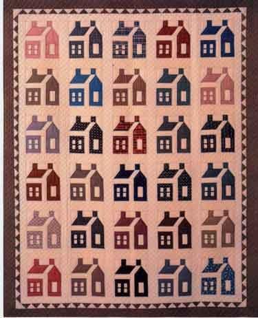 Schoolhouse Quilt 81 X 96