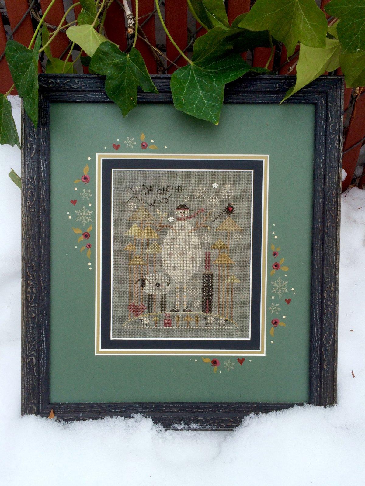 Slate Snowman
